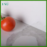 Countertop van het Kwarts van Calacatta Witte Prefab voor Keuken