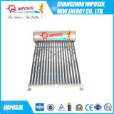 Riscaldatore di acqua solare di pressione bassa dell'acciaio inossidabile, Calentadores Solares