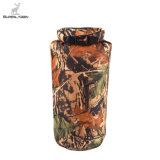 Sac sec imperméable à l'eau du Portable 8L de mémoire neuve de camouflage