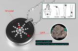 Pendente elevado da lava do quantum do íon com protetor do aço inoxidável (30005)