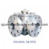 Шариковый клапан высокого давления трехходовой ый