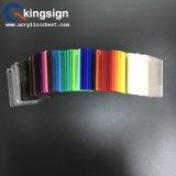 vária folha acrílica colorida de 1220X2480mm