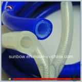 내밀린 실리콘고무 Tube 섬유유리로 강화하는