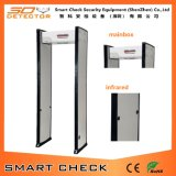 Equipamiento de seguridad Single Zone Walk Through Checking Gate