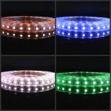 5050 striscia di colore 60LED/M LED di SMD RGB con il regolatore