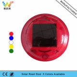 빨간 쉘 둥근 디자인 도로 마커 빛 태양 도로 장식 못