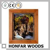 Рамка твердой древесины Honfar для домашнего украшения