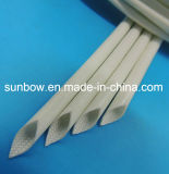 Sleeving стеклоткани силиконовой резины стеклоткани Braided