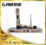 Microphone sans fil de fréquence ultra-haute avec le microphone extérieur de WiFi de bluetooth