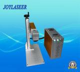 Máquina portable 20W de la marca del laser de la fibra para el teléfono Shell/USB