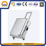 Reisender fördernder Aluminiumlaufkatze-Kasten mit u. Räder