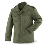 Os Mens do revestimento M65 Waterproof o revestimento militar