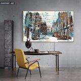 Impression de toile d'abrégé sur décoration d'architecture