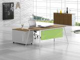 Weißes kundenspezifisches Metallstahlbüropersonal-Schreibtisch-Bein mit Ht97-1