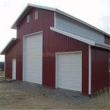 Einfache Installations-Stahlkonstruktion-Auto-Garage-Gebäude