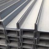 De U-balk van het staal - Roestvrij staal Builing - Staaf S/S