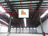 Structure métallique légère pour l'atelier de production d'usine