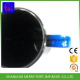 tasse en plastique de cuvette de dessin animé noir de la couleur 12oz pour des gosses