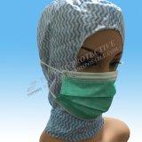 Vliesstoff 3 Falte Headloop Schablone Headloop Gesichtsmaske für Moslems