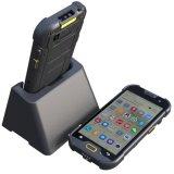 портативный промышленный карманнаяа ЭВМ 5-Inch, неровный передвижной франтовской телефон с блоком развертки Barcode