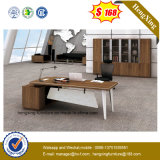 Hohe polierende leitende Stellung-Schreibtisch-Metallbein-Büro-Möbel (NS-ND152)