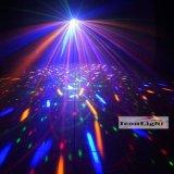Éclairage décoratif de Noël de haute puissance Moonflower Rouge Lumière laser verte