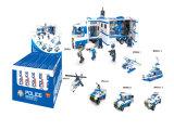 Blokken Buiding 6 van de Reeks van de politie de Plastic in 1 Stuk speelgoed