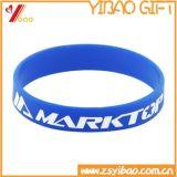 Подгонянный оптовой продажей Wristband кремния для выдвиженческого подарка