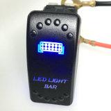 Interruptor de eje de balancín impermeable ligero de la azotea LED para el infante de marina Boad del coche