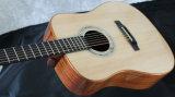 Guitarra para trás arqueada ODM do OEM Dreadnought da alta qualidade