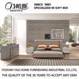 Form-doppeltes Bett-Entwurfs-moderne Schlafzimmer-Möbel-weiches Bett (G7007)