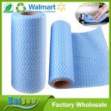 Non-Woven обтирает ткань чистки тарелки, 2X2 дюймы, отсчет 200