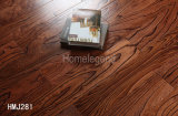 Brown Color Elm Engineered Wood Flooring / Hardwood Floor