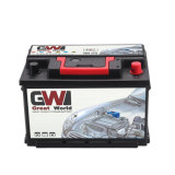 Auto-wartungsfreie Batterie der Leitungskabel-Säure-12V 75ah
