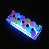 금속 LED 청량 음료 가벼운 상자 전시 기초