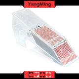 Volles Transparent/1 - 8 Plattform-Schürhaken-Spielkarte-Acrylhändler-Schuhe mit Spiegel für spielende Spiele Ym - Ds04