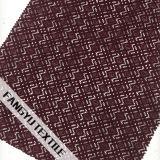 幾何学的設計の綿のナイロンレースファブリック