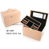 Caixa de Jóia de Madeira da Caixa da Jóia da Caixa da Caixa Original da Beleza da Caixa de Jóia do Plutônio da Caixa de Embalagem do Presente