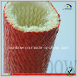 Self-Extinguishing耐火性にシリコーンゴムの上塗を施してあるガラス繊維のスリーブを付けること