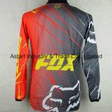 Motocicleta na moda feita sob encomenda Jersey do Sublimation da qualidade vermelha (MAT20)