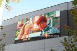 P10 Digitaces al aire libre que hacen publicidad de la visualización de LED