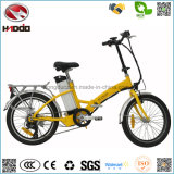 O mais barato Mini 250W Electric Folding City Bike En15194 Road Bicycle Pedal Vehicle for Sale