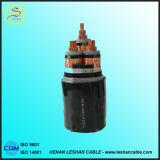 Cable de cobre eléctrico de la base 4mm2 del cable 4 de la corriente del PVC/del PVC del Cu 600/1000V del IEC 60502-1