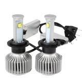 Luz de nevoeiro frontal automotiva X7 H7 80W 7200lm Farol de carro com LED com kit de conversão all-in-one de lâmpadas de farol de LED 6000k