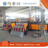 Máquina de tecelagem automática da cerca do diamante