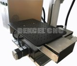 машина маркировки вытравливания лазера волокна 10W 20W портативная с Moving таблицей для большого материала размера