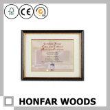 Moderner festes Holz-Bescheinigungs-Dokumenten-Bilderrahmen für Dekor
