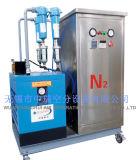 Gerador móvel do nitrogênio usado para o armazenamento do alimento