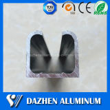 6063의 합금 가이드 궤도 가로장 양극 처리하는을%s 가진 알루미늄 밀어남 단면도