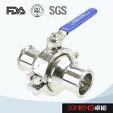 Válvula de bola soldada Manual de acero inoxidable de grado alimenticio (JN-BLV1001)